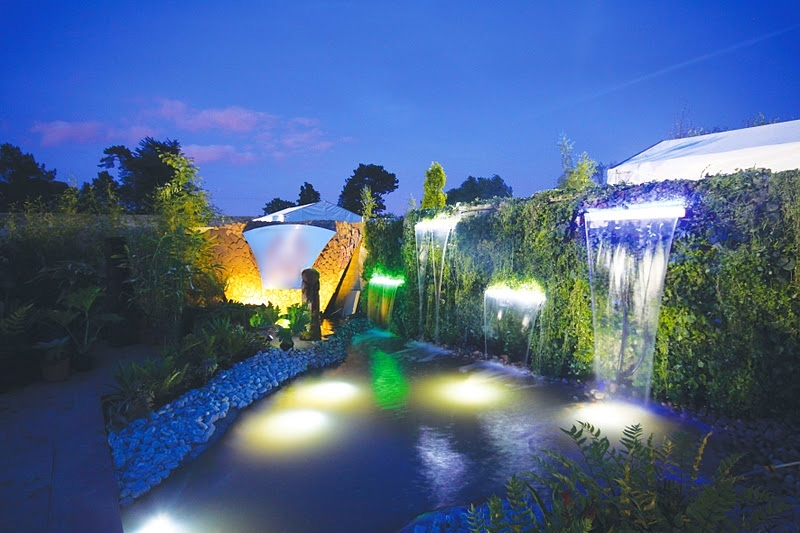 Show Garden at Night