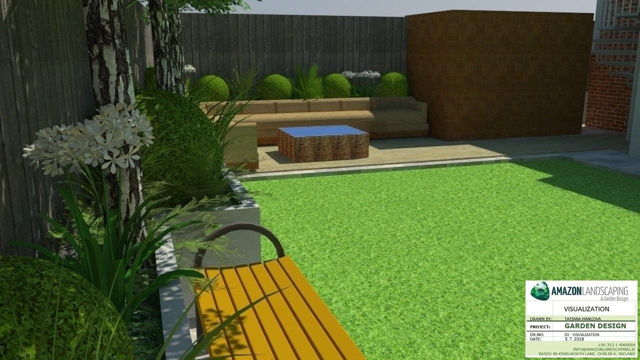 3d garden design — amazon landscaping