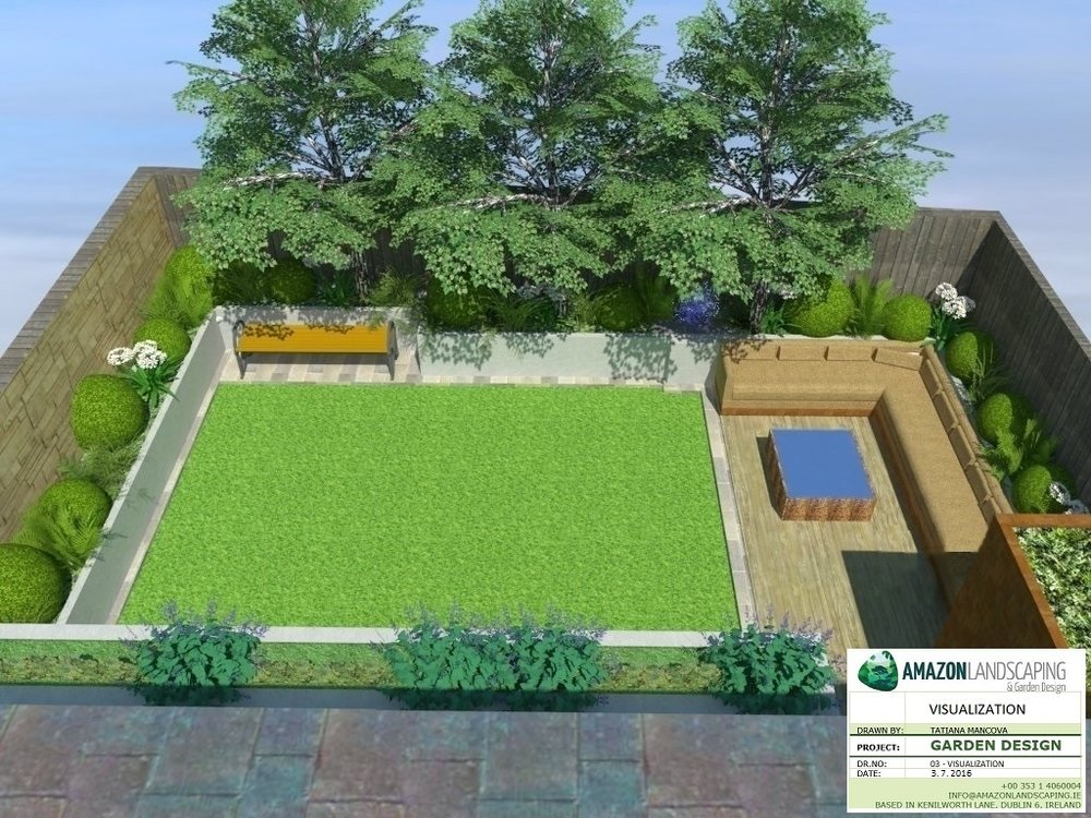3d garden design amazon landscaping for New garden design