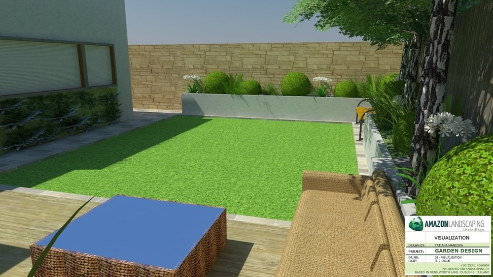 3D Garden Design — Amazon Landscaping. Amazon Landscaping - garden design and landscaping