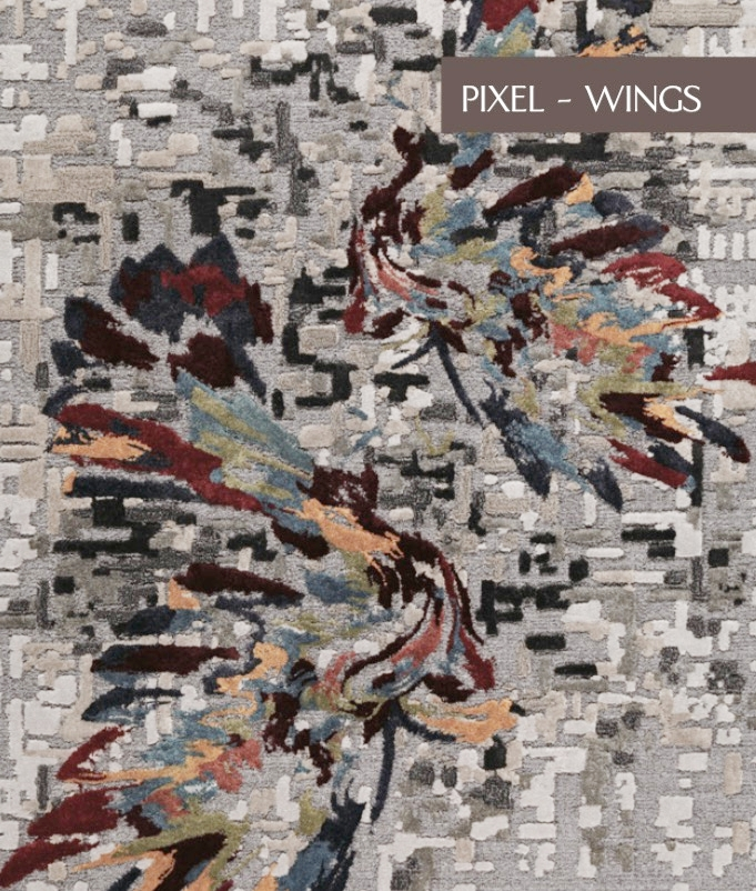 PIXEL WINGS  Select Viscose & Viscose