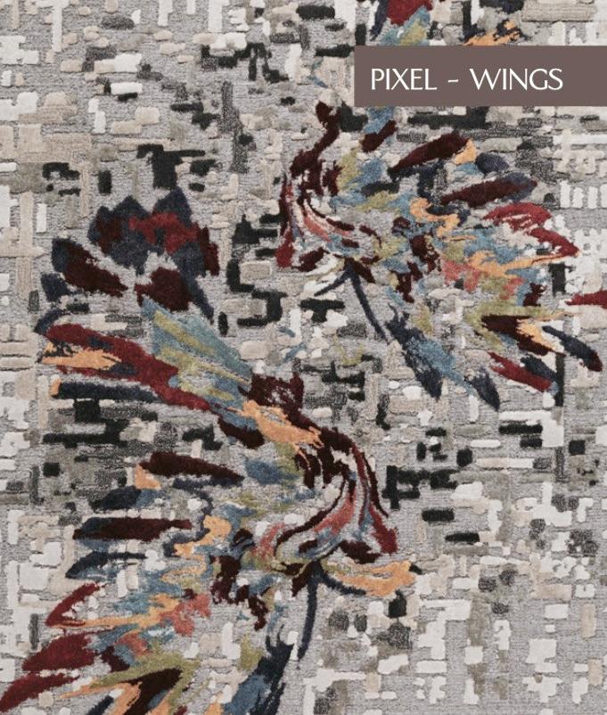 PIXEL WINGS  Select Viscose & Viscose