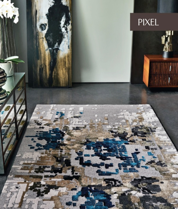 PIXEL COLLECTION  Select Wool & Viscose