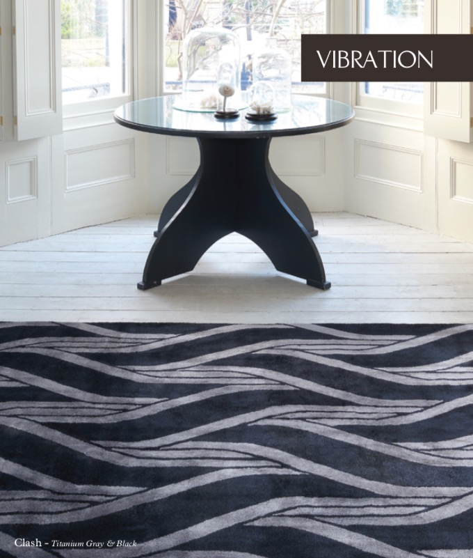 VIBRATION COLLECTION  Flat Viscose