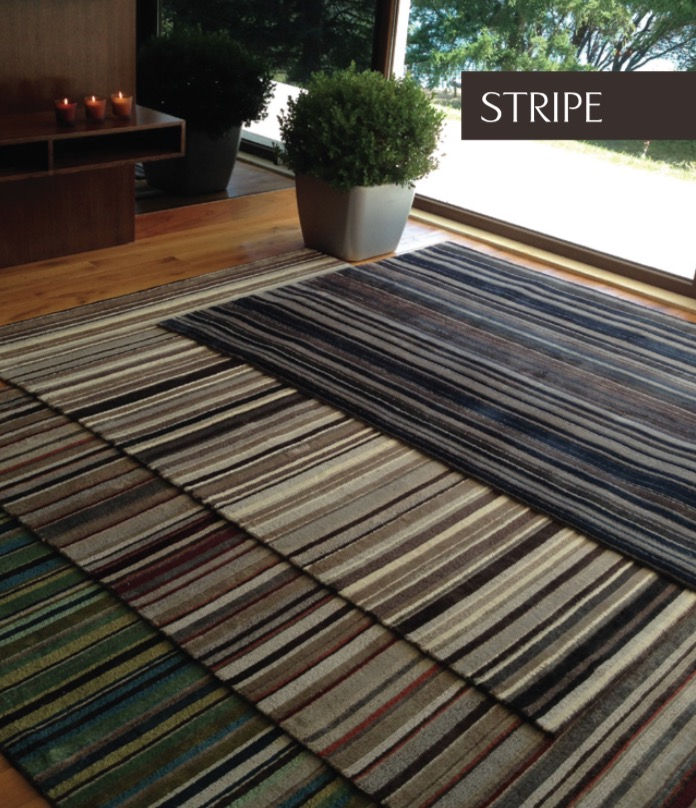 STRIPE COLLECTION  Star Viscose