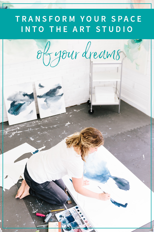 Transform Your Space into the Art Studio of your Dreams