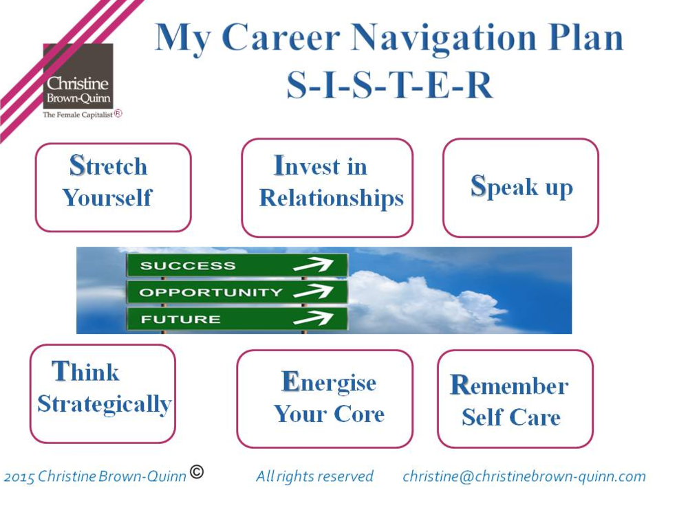 SISTER Career navigation plan