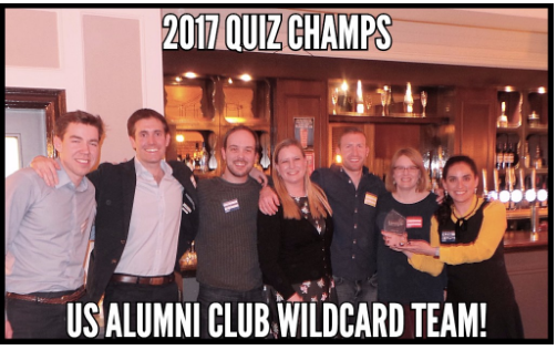2017 Quiz Night winners