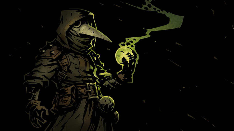 Darkest Dungeon - The Plague Doctor class both causes and cures ongoing damage effects.