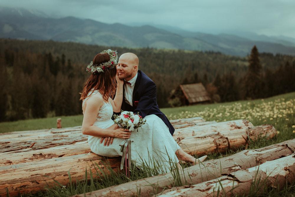 Fotografia Ślubna w Tatrach i Nowym Targu-Sesja Plenerowa - Natalia & Philip