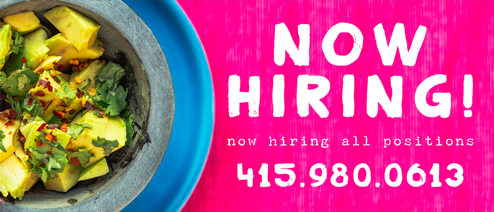 now hiring banner - click for details