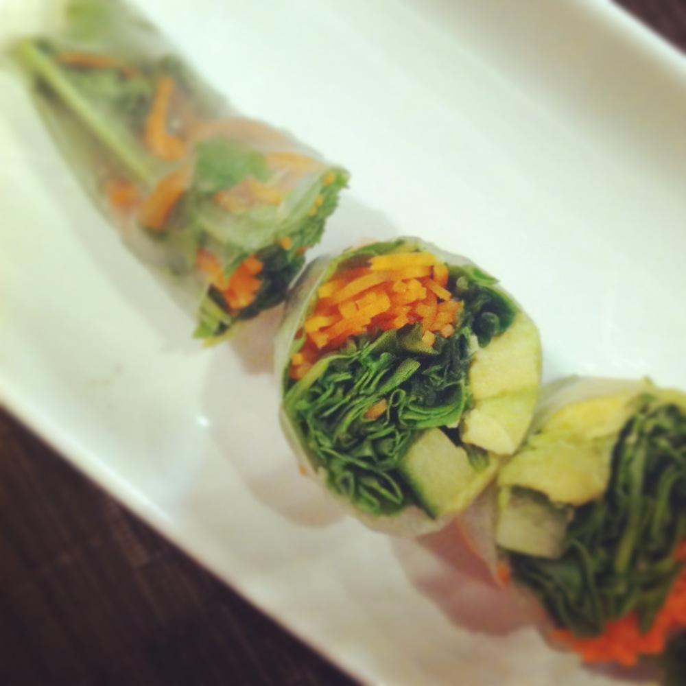 best veggie sushi
