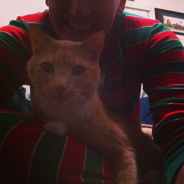 christmas pj's and ned