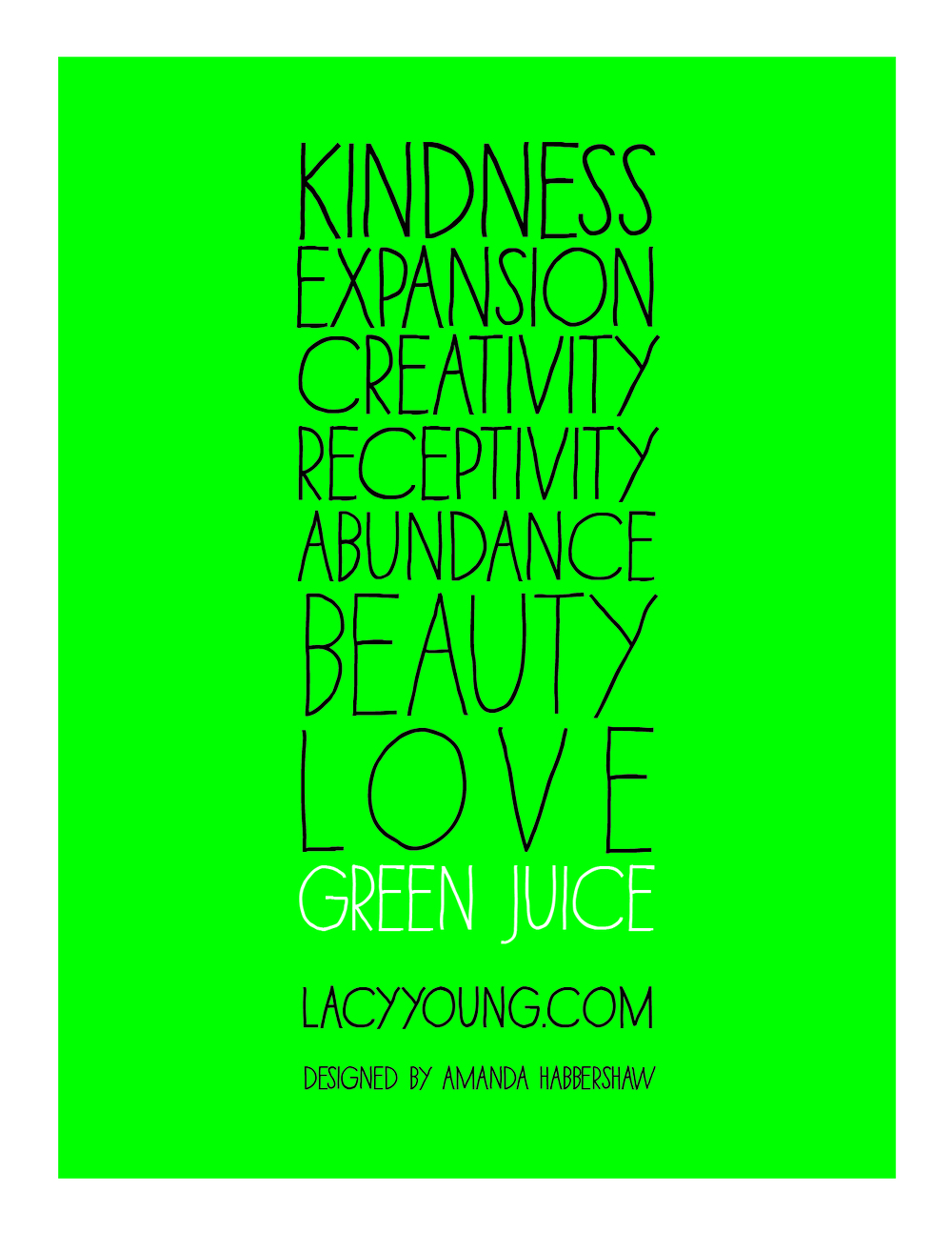 + green juice