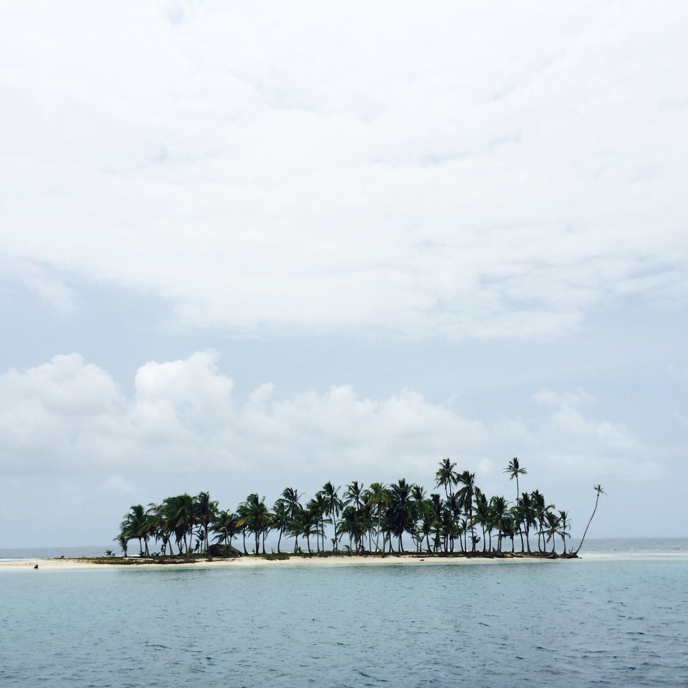 cloud island, san blas, panama