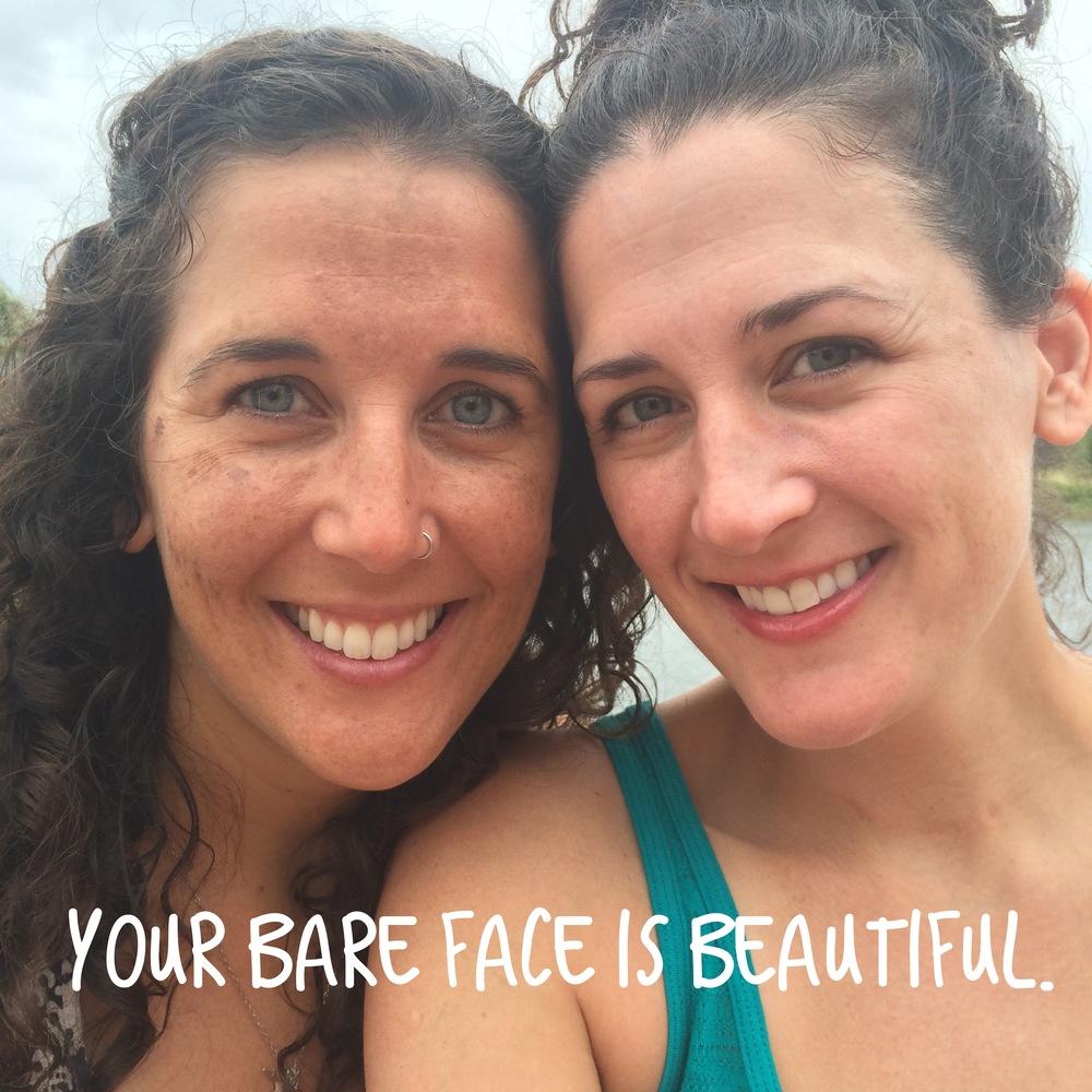 bare. beautiful. you.