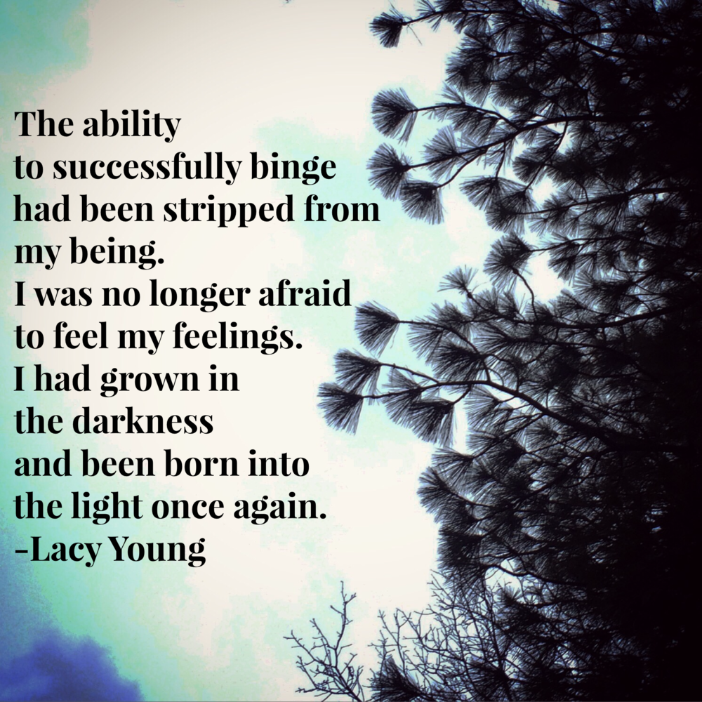 born into the light | Lacy Young