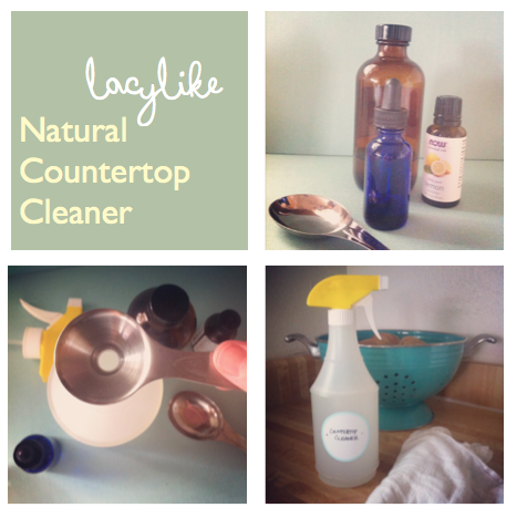 Natural Countertop Cleaner