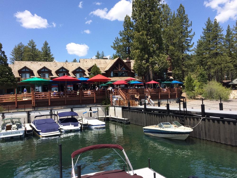 Sunnyside Restaurant on the shores of Lake Tahoe