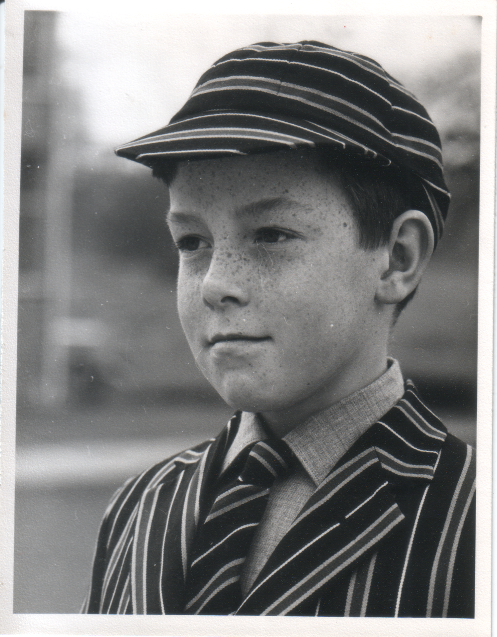 CCA in Grenville College school uniform in 1962, Age 10.