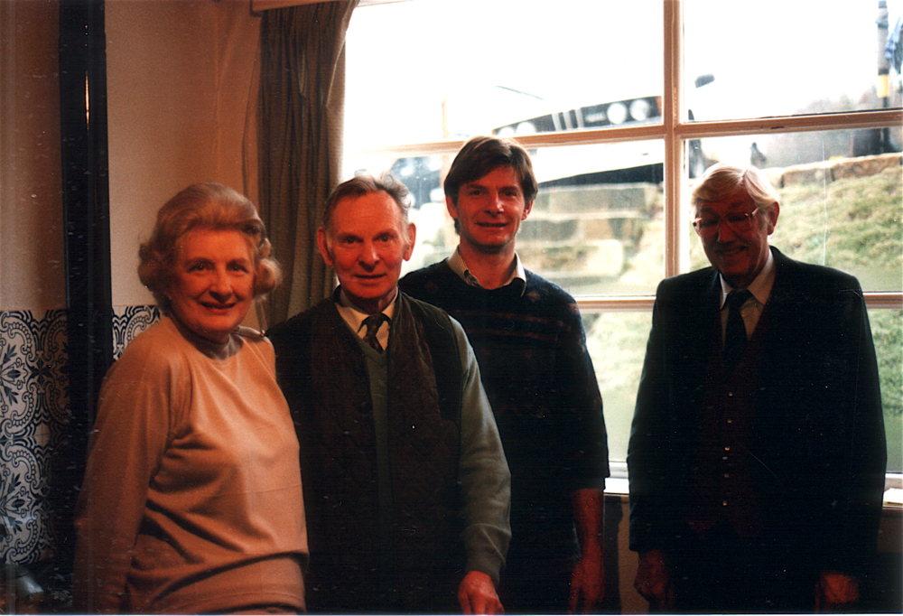 L to R: Pat Cole, Bill Cole, Michaeal Cole & John Newson