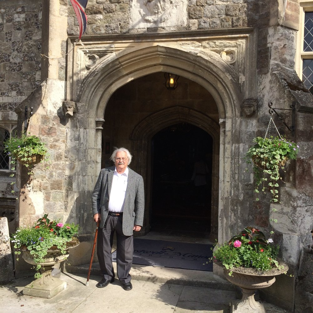 At Eastwell Manor on June 24, 2015