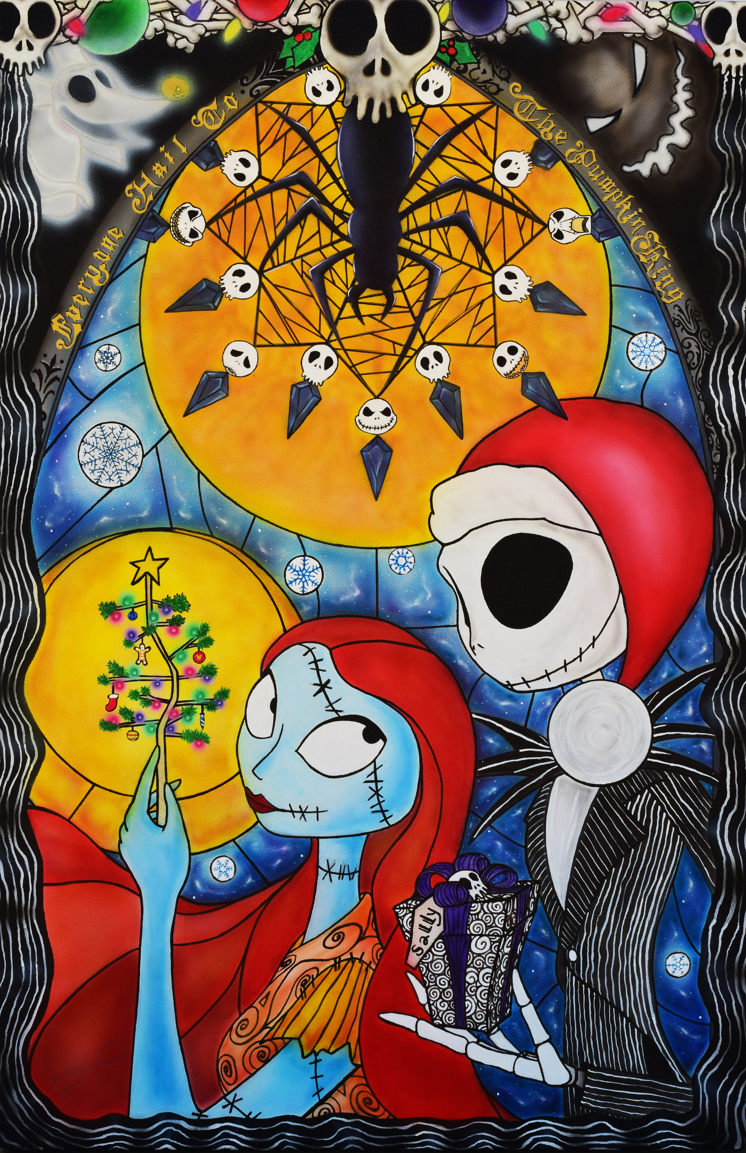 The Nightmare Before Christmas — Art by Howie