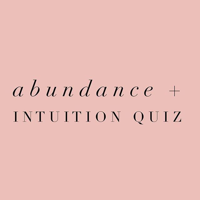Are you connected to your intuition?  Do you LOVE the feeling you get when you act on a whispering or a hunch that ends up leading you to something wonderful? And now you're ready to start using that superpower on command?  I have learned to LOVE using my internal guidance system to manifest ABUNDANCE in my life and business.  I had to learn how to access my own inner wisdom in order to achieve the ALIGNMENT and the ABUNDANCE I craved.  That's when things CLICKED.  Access that version of yourself that MAGNETIZES abundance and opportunities.  But first you have to find out where you are NOW!  It's crucial to understand where we're starting AND where we want to go so we can start to CONNECT the dots.  Find out by taking the quiz now! (Link in bio)