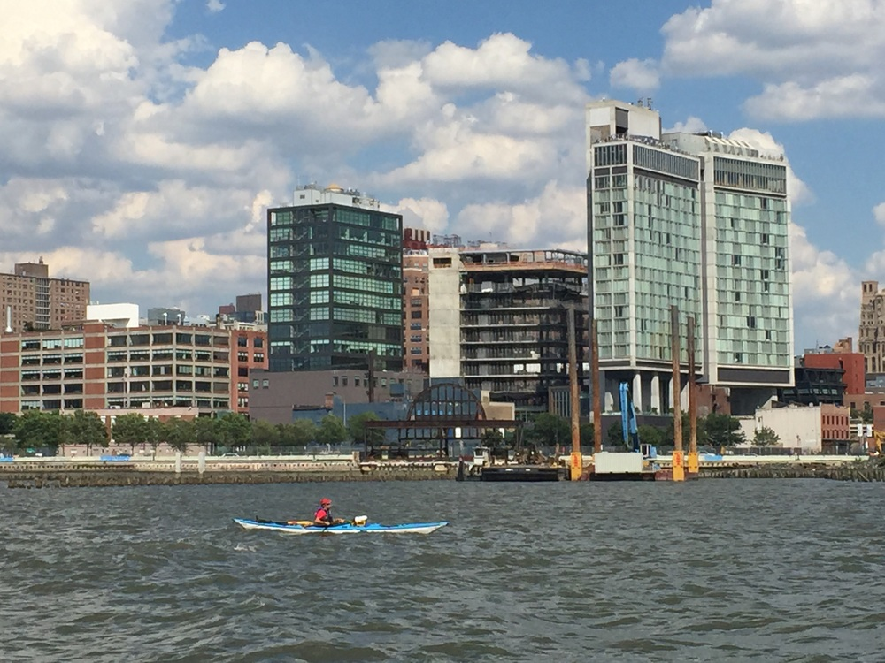 Passing Chelsea Piers & The Standard High Line