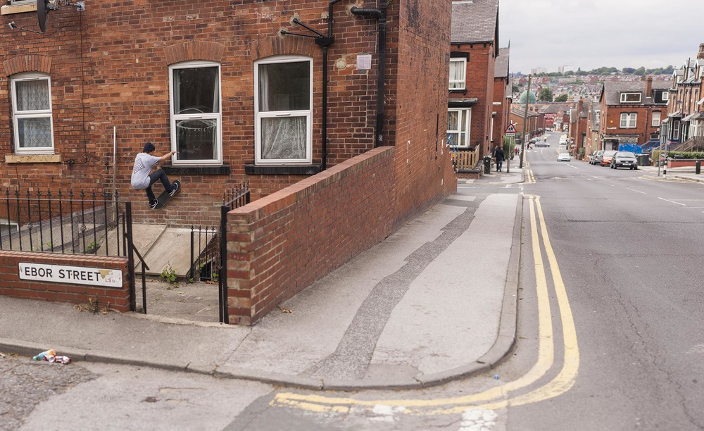 Vaughan Jones - frontside wallride