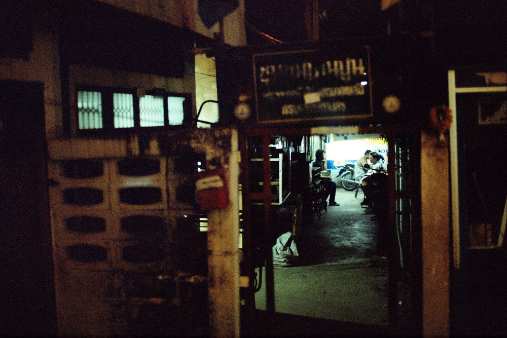 Shot on a Minolta X-300. Bangkok, 2012.