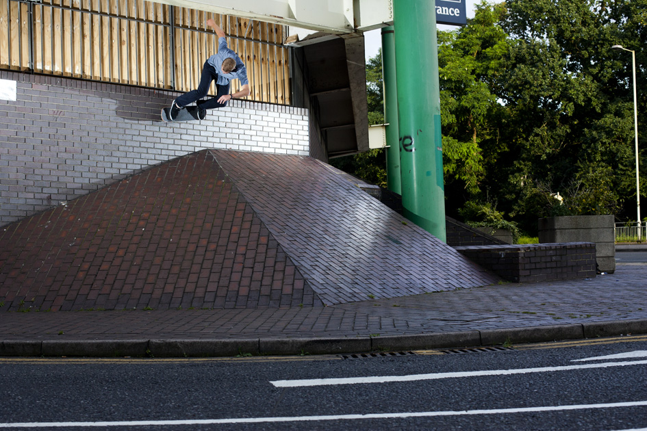 Neil Smith - wallride