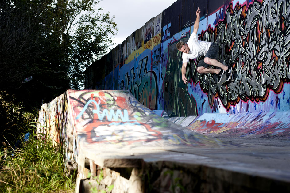 Paul Silvester - switch wallride