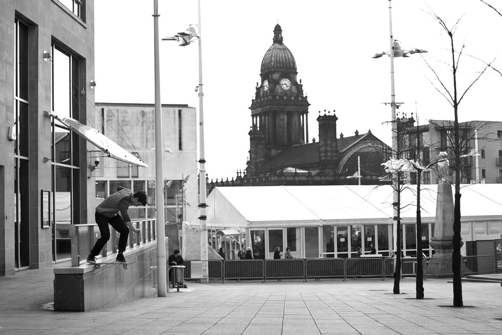 Tom Harrison - backside tailslide
