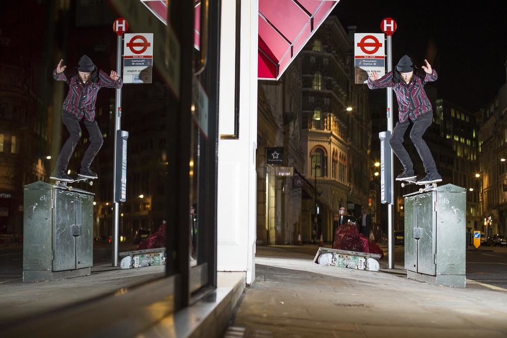 Neil Worthington - backside nosegrind