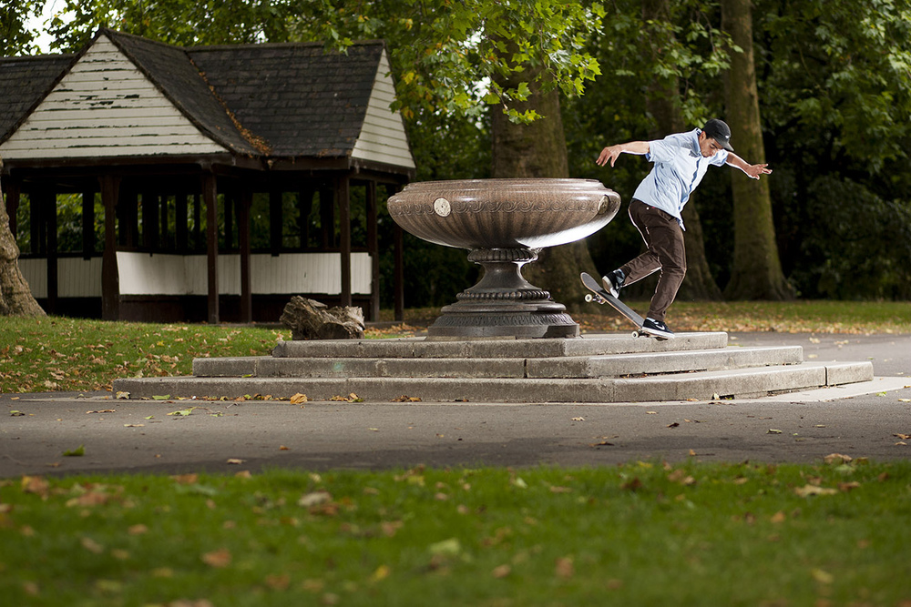 Kyron Davis - backside noseblunt