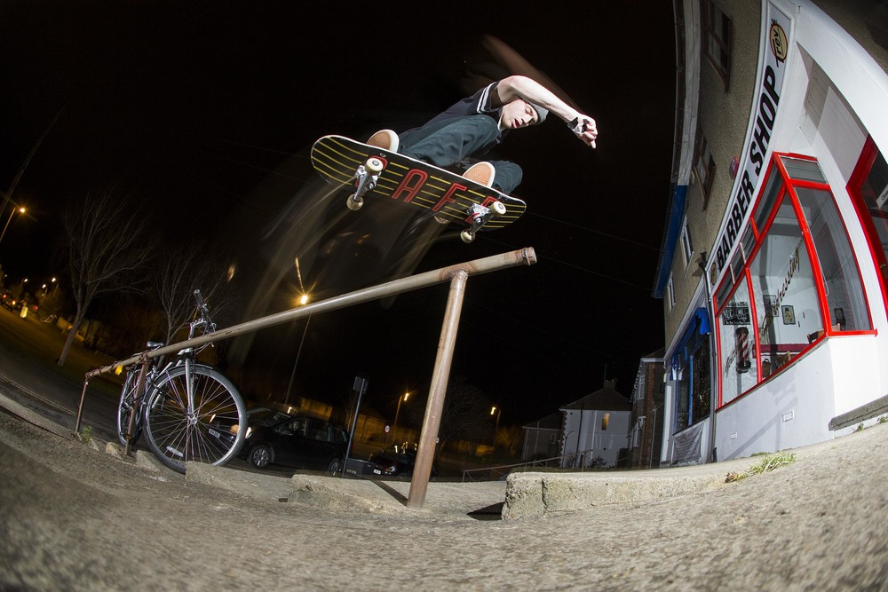 Mike Arnold - switch backside 180