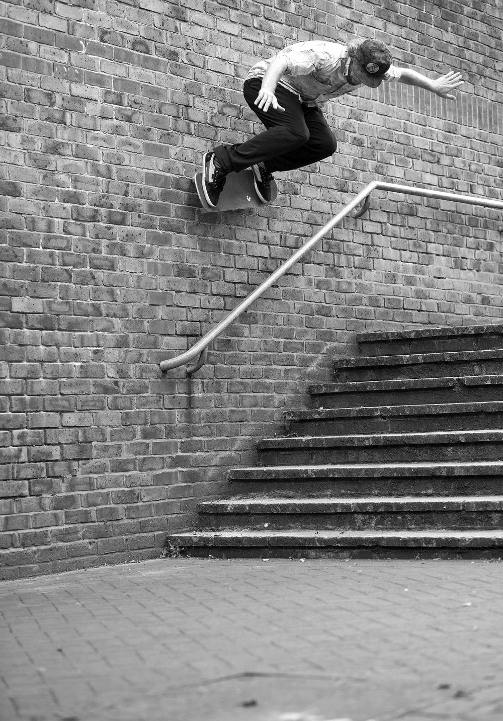 Barney Page - ollie over to wallride