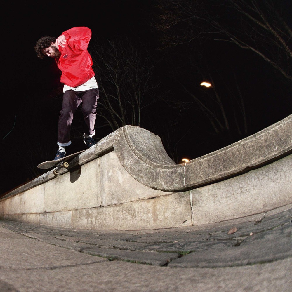 Jack Mcallum - wallie backside lipslide