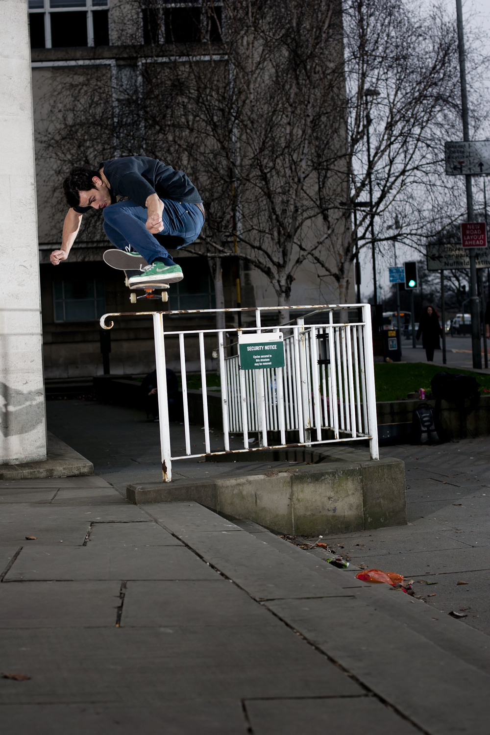 Tom Harrison - ollie