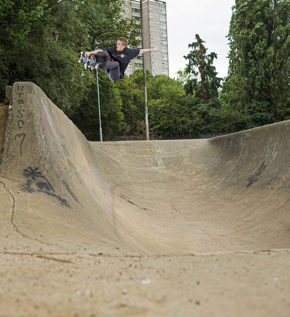 Kieran Menzies - frontside air
