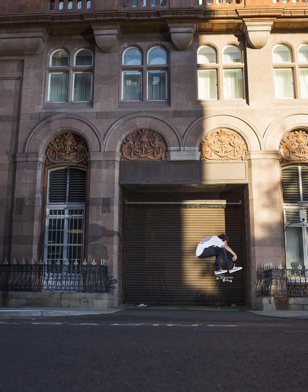 Tyrone O' Hanrahan - frontside flip
