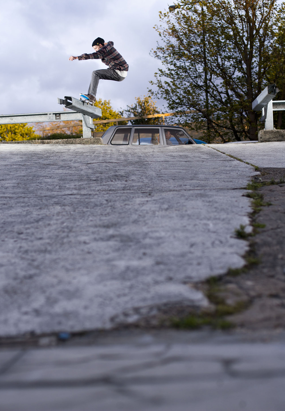 Jazz Leeb - frontside 50-50