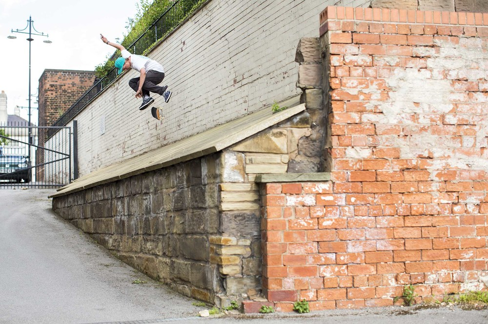 Mark Baines - switch backside flip