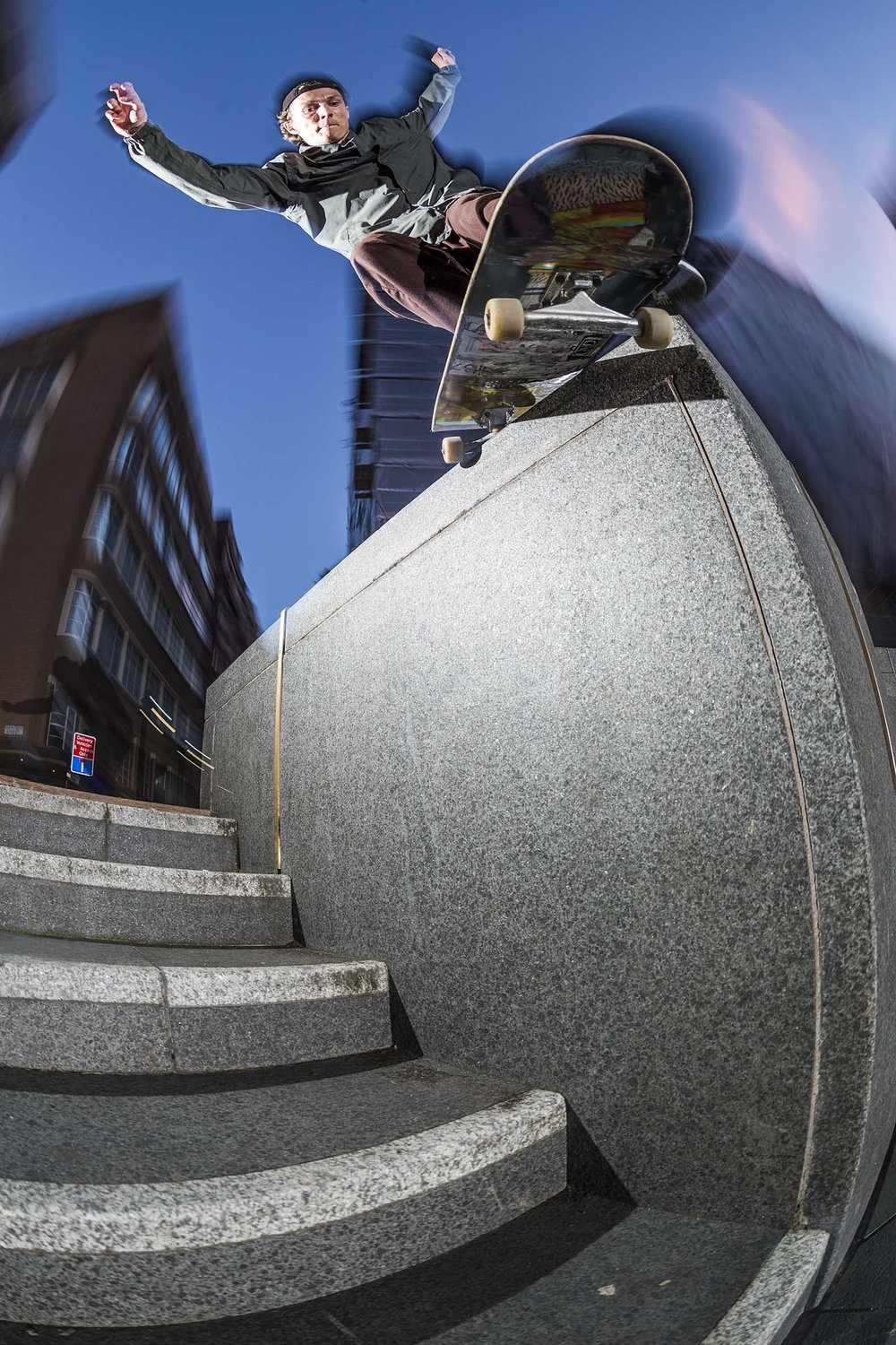 Seb Batty - backside smith