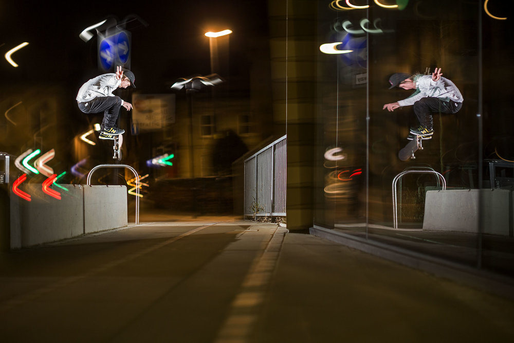 Mark Baines - switch kickflip