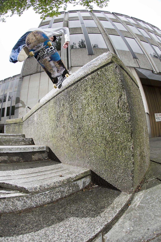 Jamie Platt - spanish grind