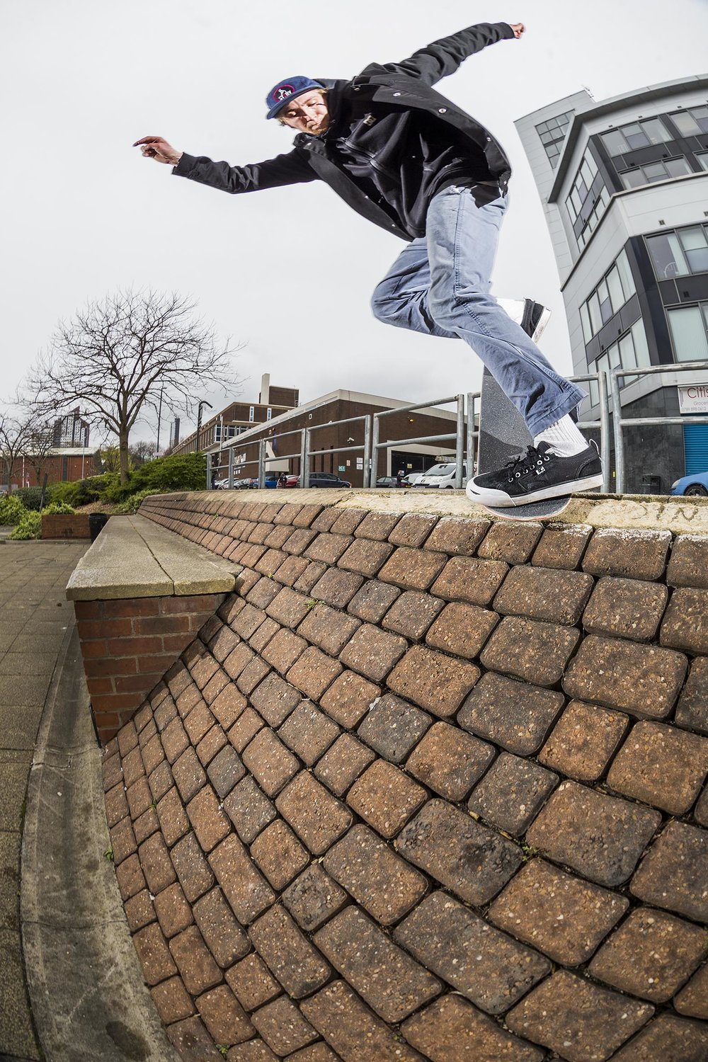 James Bush - backside noseblunt