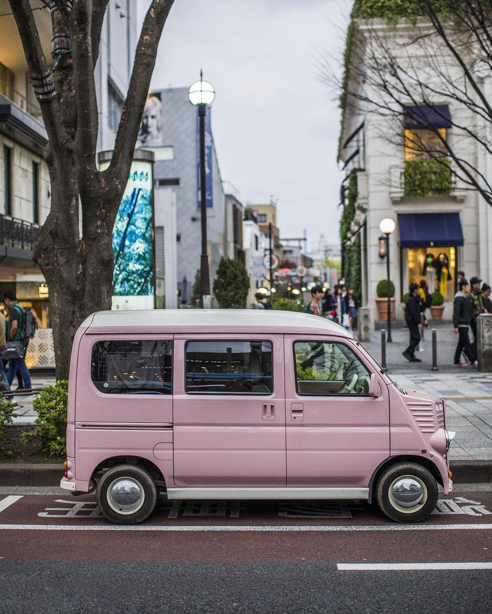 Harajuku, Tokyo. 2016.