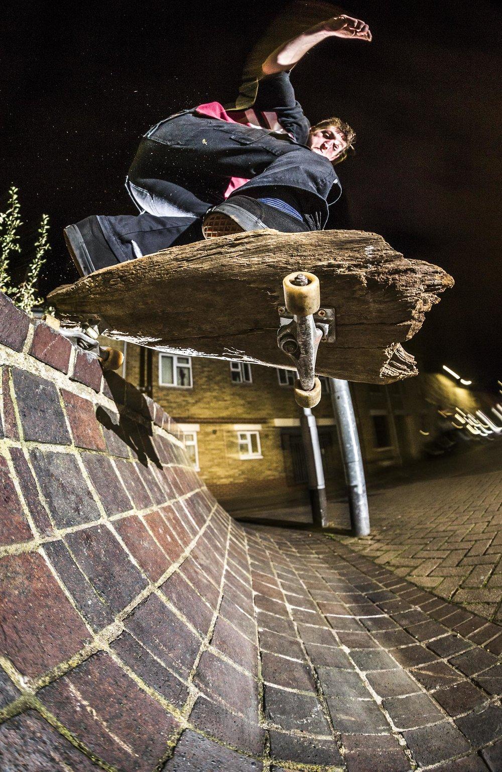 Brendan Watson - plank roll in